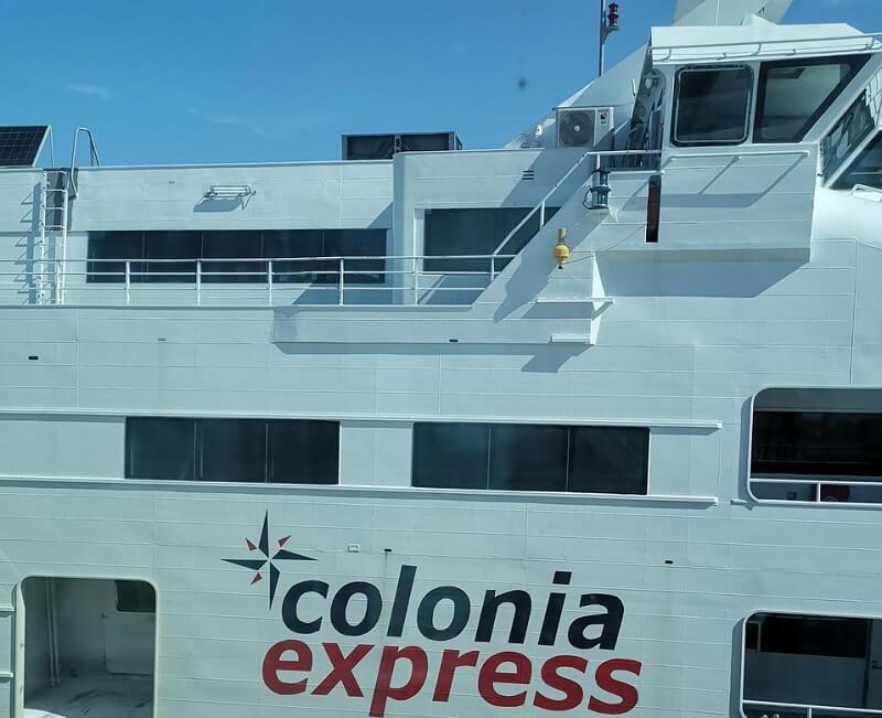 Viagens de ferries saindo de Colonia del Sacramento